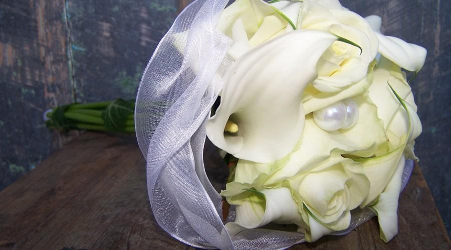bouquet de mariée, fleuriste à Ruy et à Bourgoin