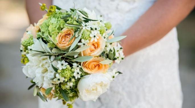 bouquet de mariée,fleuriste Ruy