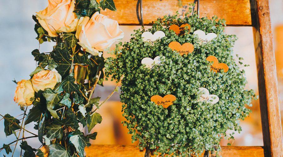 mariage, la fontaine fleurie